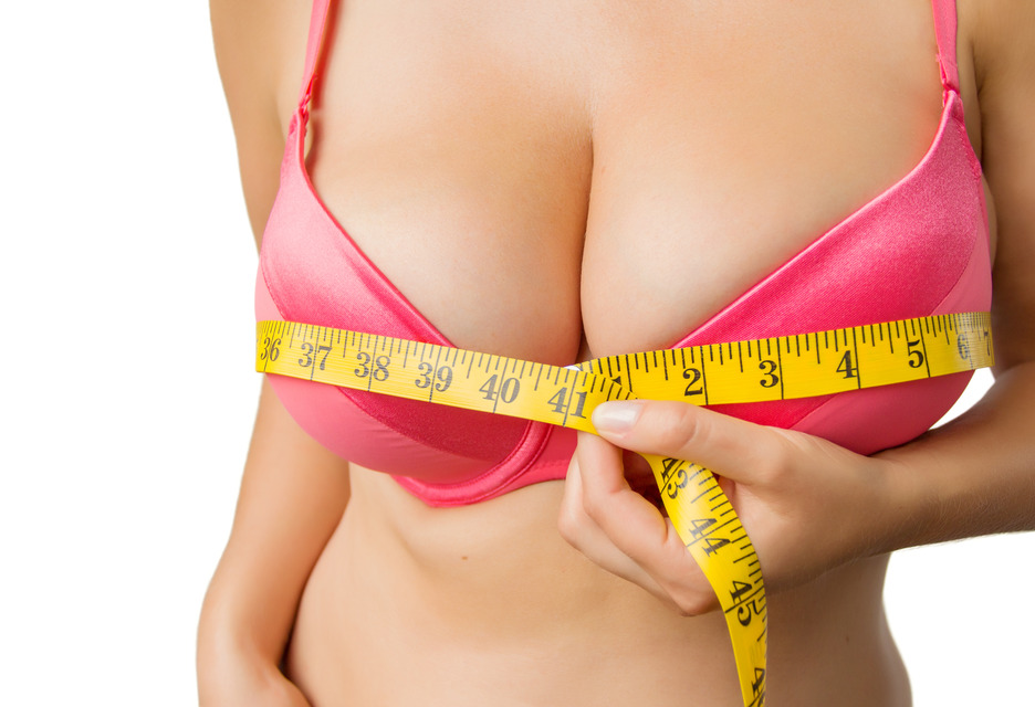breast reduction size reduced