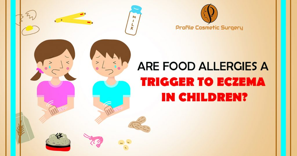 Are Food Allergies a Trigger to Eczema in Children