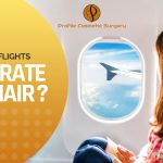 How long flights dehydrate your hair