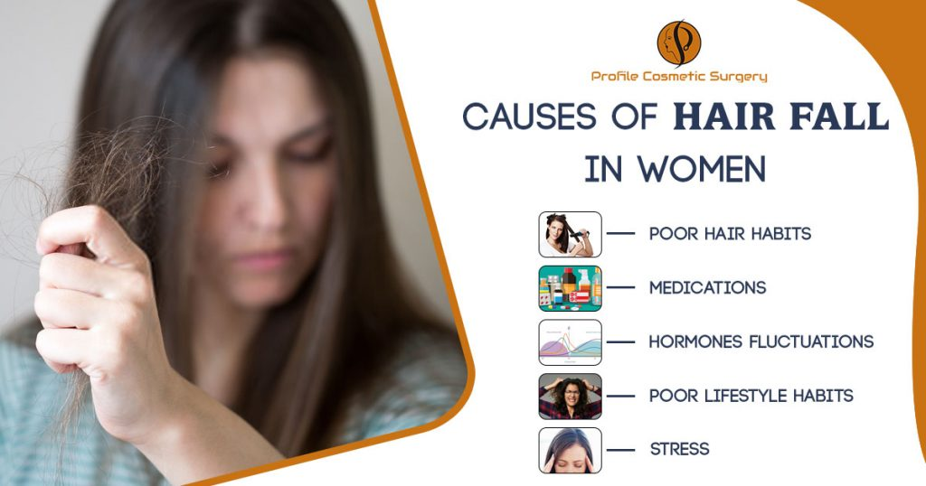 Causes of hair fall in women Punjab