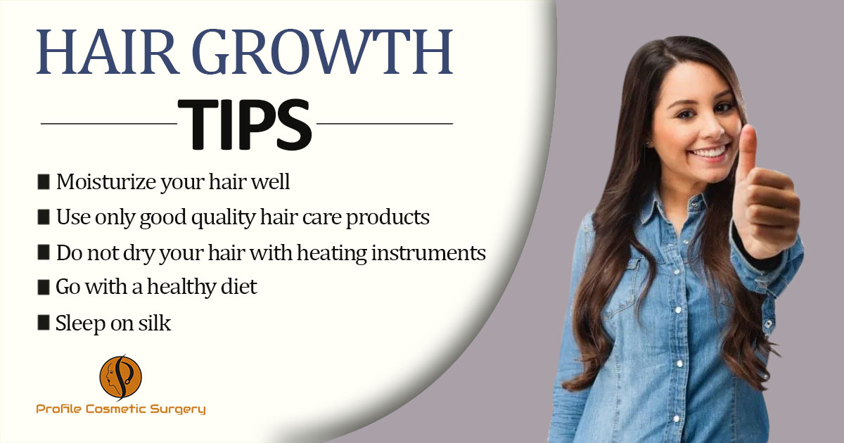 What are the amazing tips one should follow to grow healthy hair naturally?