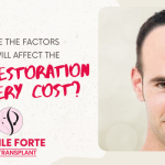 What are the factors which will affect the hair restoration surgery cost