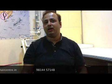 Dr Rustam Ali from Malerkotla Gets Hair Transplant Surgery at Profile Studios